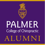 Palmer College of Chiropractic Alumni badge