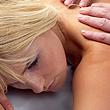 Image of woman getting massage.