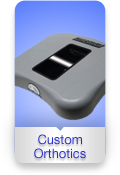 Holliston Spine Sport Center Custom Orthotics Button