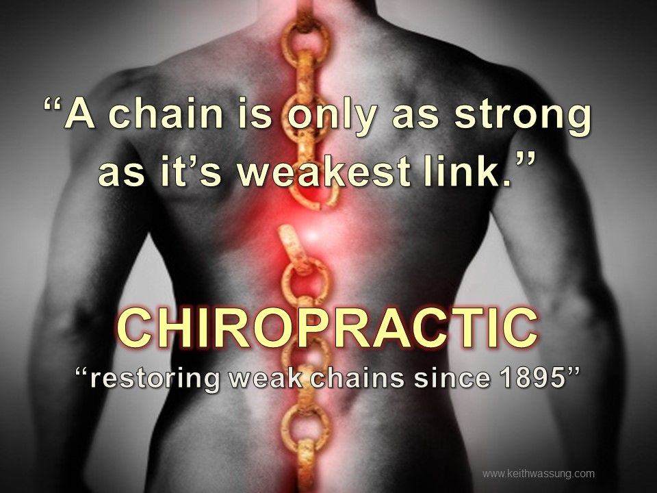 Image - A chain is only as strong as it's weakest link.