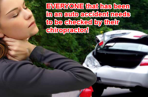 Image - EVERYONE that has been in an auto accident needs to be checked by their chiropractor!