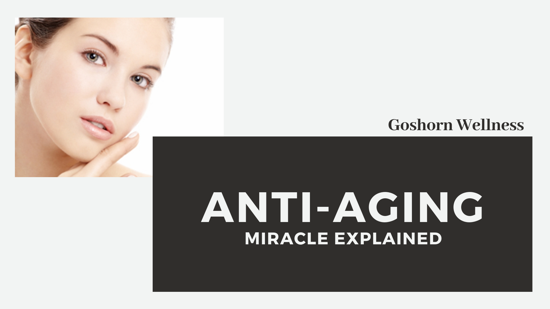 Anti-aging miracle explained