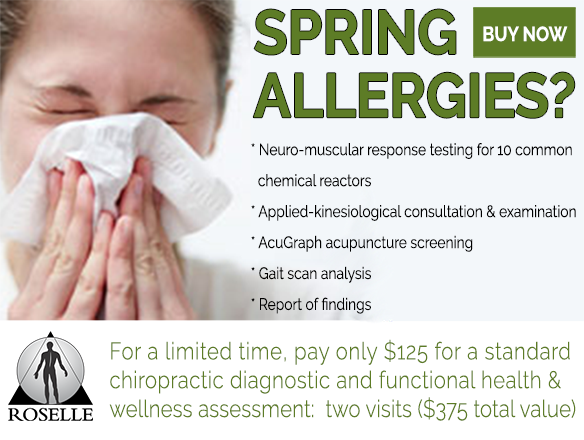 spring allergies special offer
