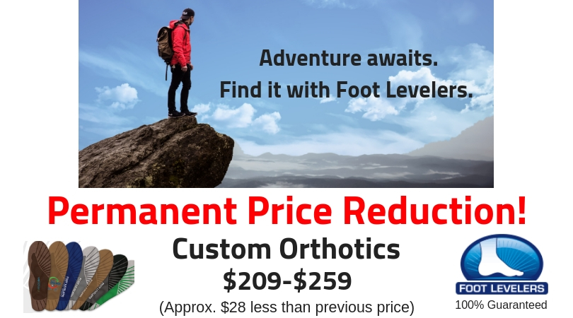 footlevelers permanent price reduction