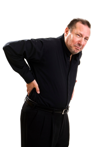 Man with Sciatica Pain in Sugar Land
