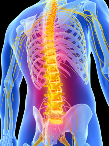 Spine Image that needs decompression in Sugar Land