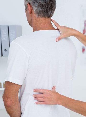 photo of chiropractic patient