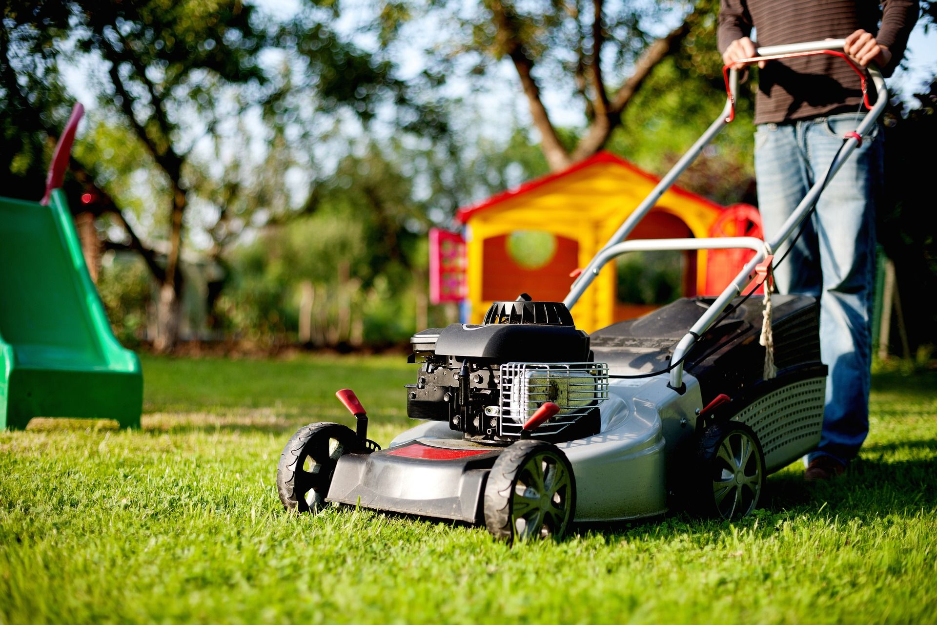 Photo of lawn mower