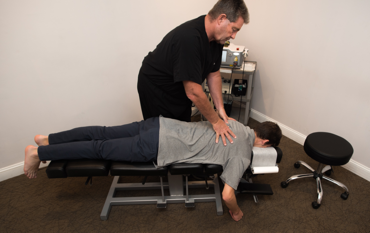 Chiropractic Adjustment - Thoracic Spine