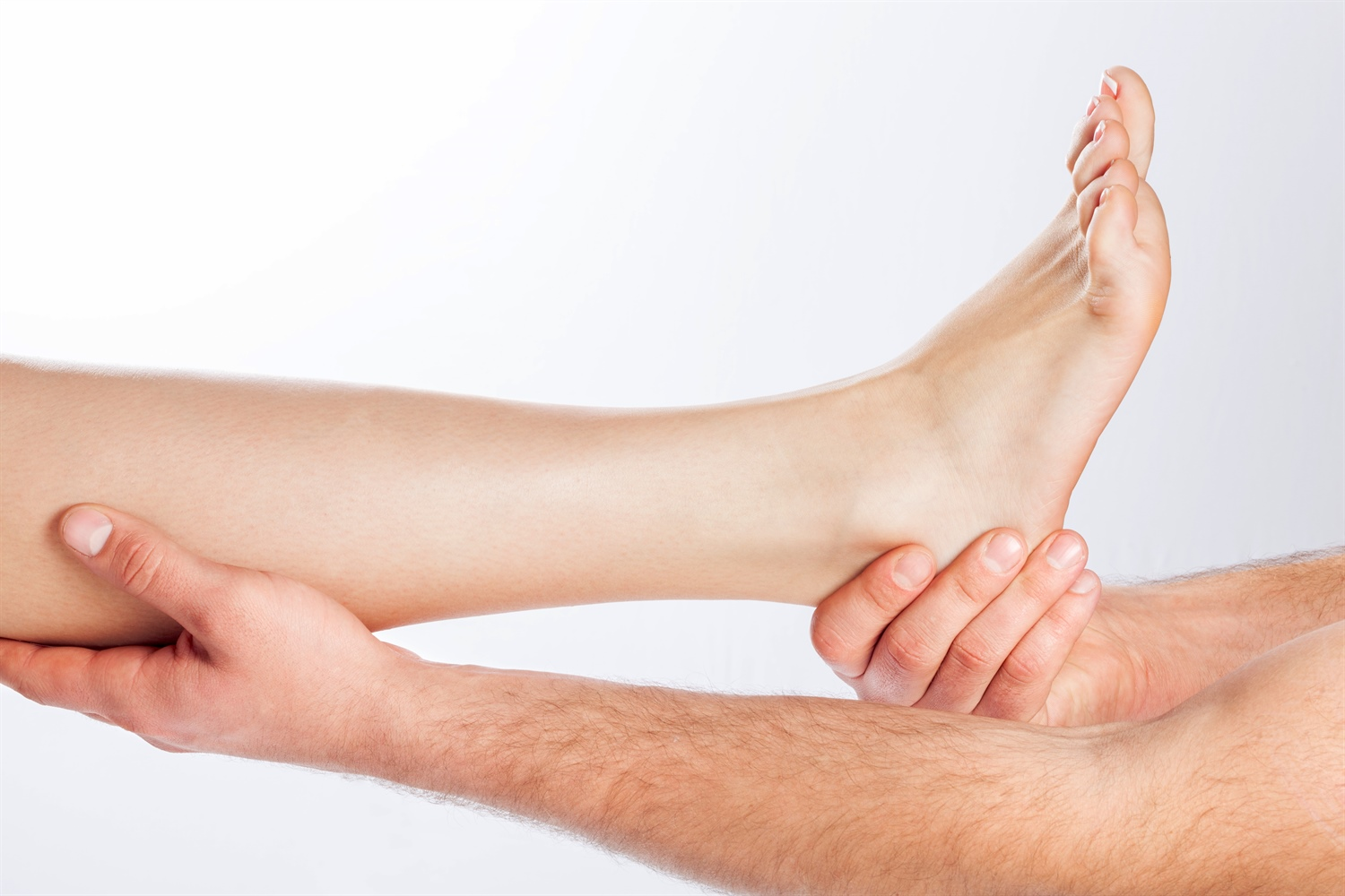 Chiropractor treating a patient with Neuropathy
