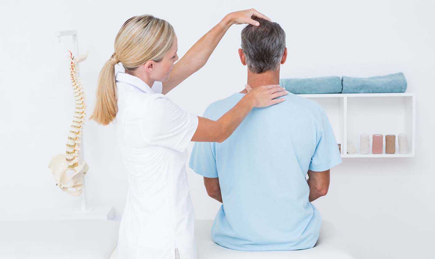 Treatment at chiropractor in Tracy California