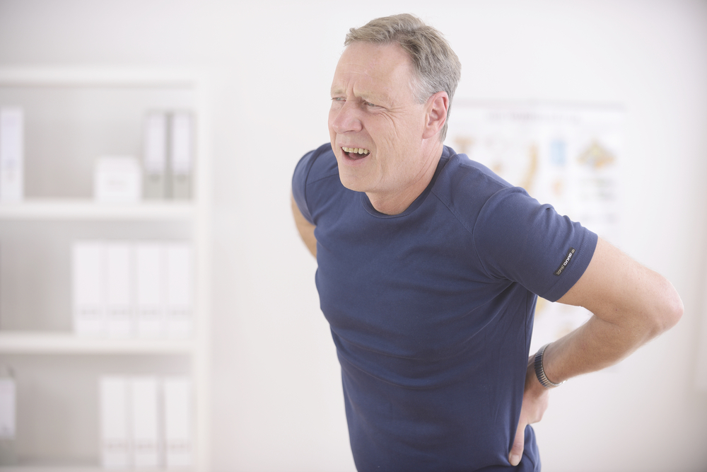 man with low back pain in scottsdale